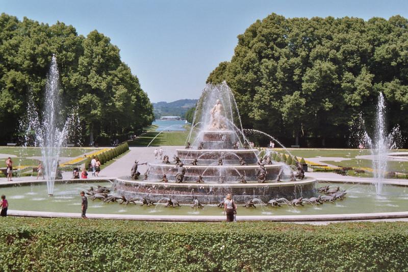 Herrenchiemsee Latona Fountain